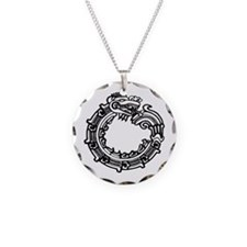 Aztec Ouroboros Symbol Necklace