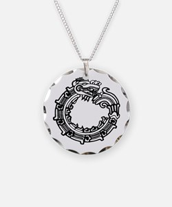 Aztec Ouroboros Symbol Necklace