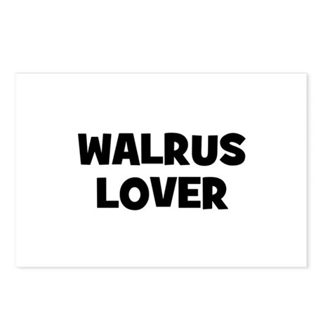Walrus Lover Postcards (Package of 8)