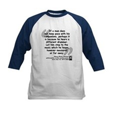 Thoreau Drummer Quote Tee