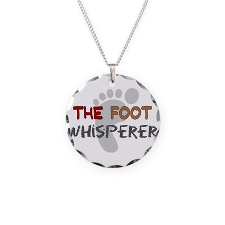 The Whisperer Occupations Necklace Circle Charm