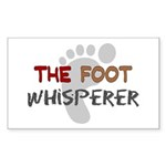 The Whisperer Occupations Sticker (Rectangle 50 pk
