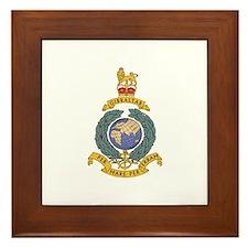 Royal Marines Framed Tile