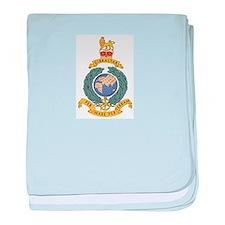 Royal Marines baby blanket