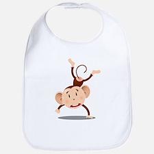 Funny Monkey Bib