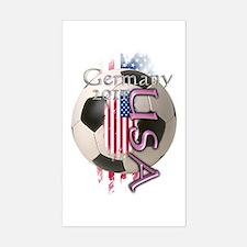 Germany 2011: Sticker (Rectangle)