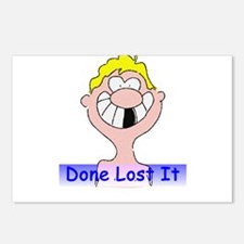Done Lost It Postcards (Package of 8)