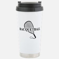 Racquetball Stainless Steel Travel Mug