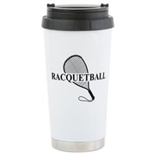 Racquetball Travel Coffee Mug