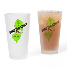 Down the Jersey Shore Pint Glass