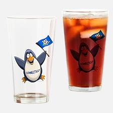 Connecticut Penguin Pint Glass