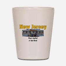 Retro Jersey Diner Shot Glass