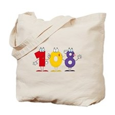 Happy Number 108 Tote Bag