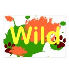 Wild Postcards (Package of 8)