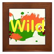Wild Framed Tile