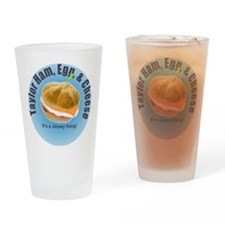 Taylor Ham, Egg & Cheese Blue Pint Glass