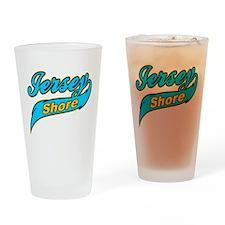 Jersey Shore Yellow Pint Glass