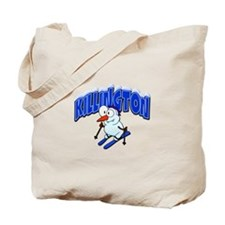 Killington Snowman Tote Bag
