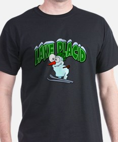 Lake Placid Skier T-Shirt