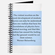 werner heisenberg quotes Journal