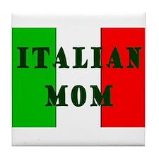 ITALIAN Mom Tile Coaster