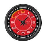 Racing car clock Giant Clocks