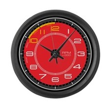 Ferrari Tachometer Large Wall Clock