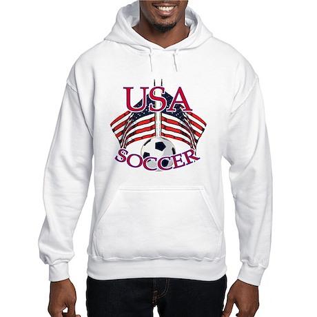 USA Soccer Hooded Sweatshirt