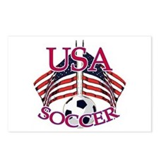 USA Soccer Postcards (Package of 8)