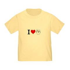 I Heart Flip Flops Toddler T-Shirt