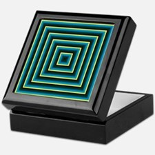 Decorative Squares Keepsake Box
