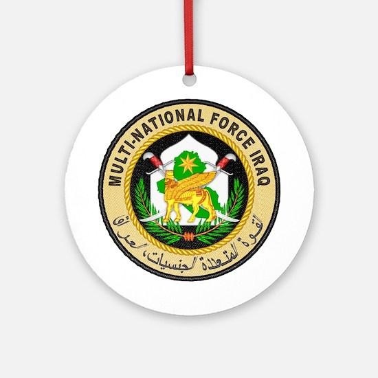 Iraq Force Ornament (Round)