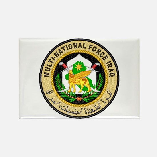 Iraq Force Rectangle Magnet (10 pack)