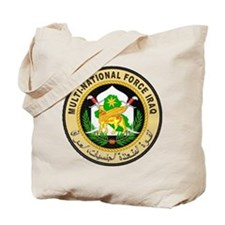 Iraq Force Tote Bag