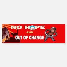 no hope Bumper Bumper Sticker