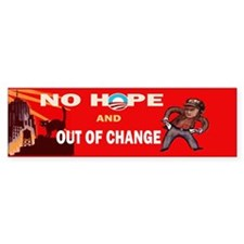 no hope Bumper Sticker