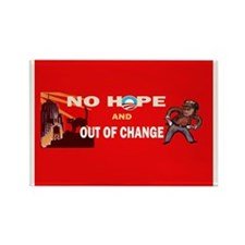 Funny Hope change Rectangle Magnet