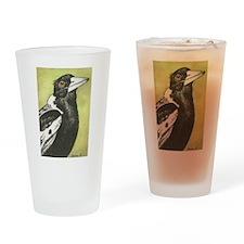 Australian Magpie Pint Glass