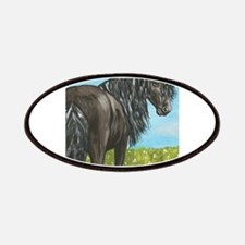 FRIESIAN HORSE PAINTING Patches