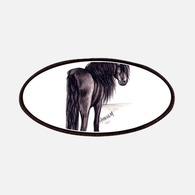 Friesian Mare Patches