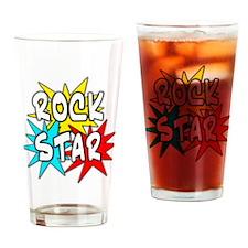 Rock Star Pint Glass