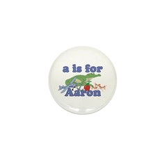A is for Aaron Mini Button (10 pack)