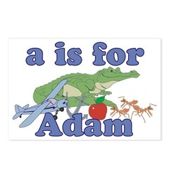 A is for Adam Postcards (Package of 8)