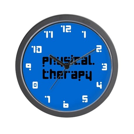 Physical Therapy - Wall Clock