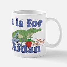 A is for Aidan Mug