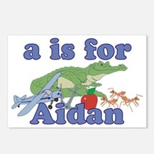 A is for Aidan Postcards (Package of 8)