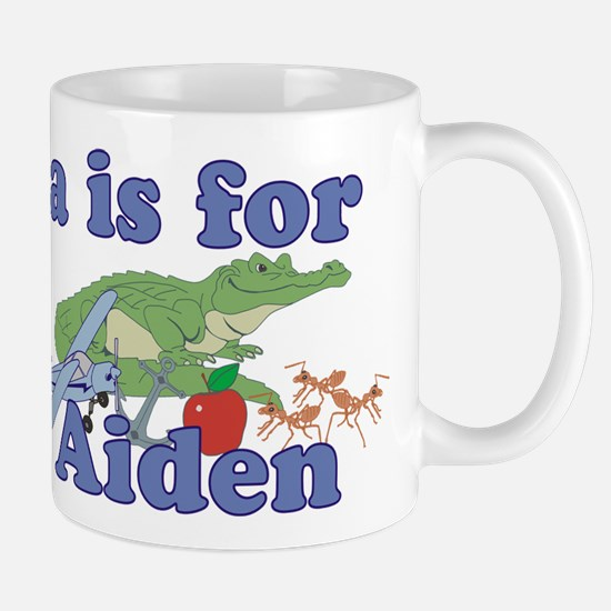 A is for Aiden Mug