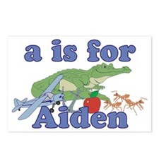 A is for Aiden Postcards (Package of 8)