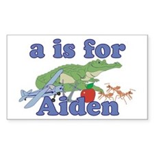 A is for Aiden Decal