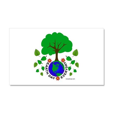 Earth Day Everyday Car Magnet 20 x 12
